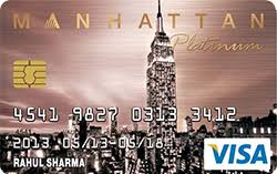 Standard Chartered Manhattan Platinum Bank Card