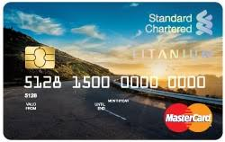 Standard Chartered Super Value Titanium Bank Card