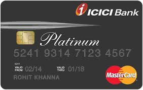 ICICI Instant Platinum Bank Card
