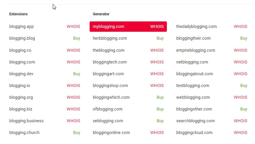 Best Blog Name Generator Tools