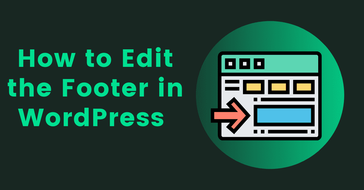 How to Edit the Footer in WordPress