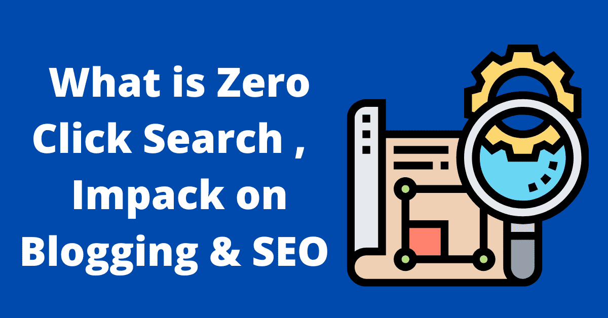 what is zero click search