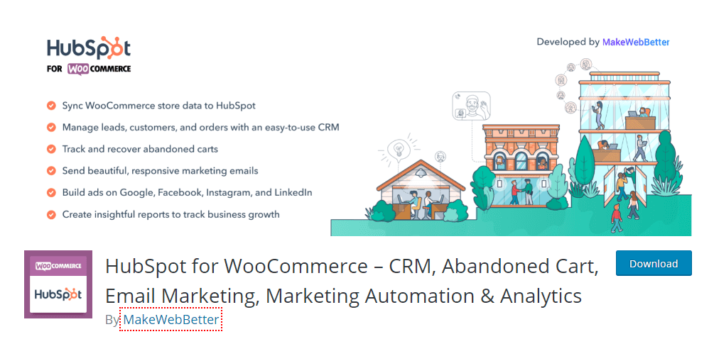 hubspot for woocommerce